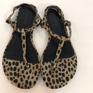 Talbots leopard thongs